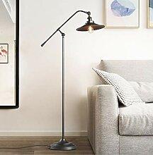 VOMI Lampadaire Lampe Sur Pied Salon Industriel