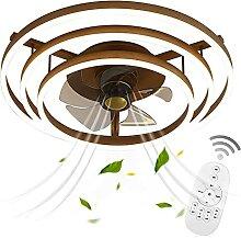 VOMI Lampe de Plafond avec Ventilateur LED Fan