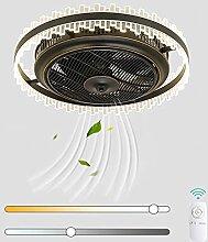 VOMI LED Ventilateur au Plafond Lumière avec