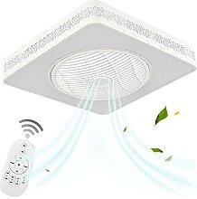 VOMI Luminaire Plafond avec Fans Télécommande