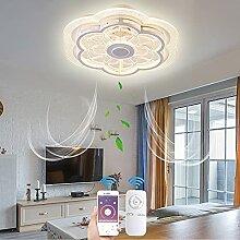 VOMI Ventilateurs de Plafond avec Lampe LED