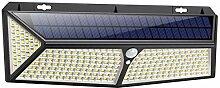 VOOE Lampe Solaire Extérieur 288 LED [2020 USB et