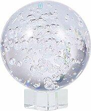VOSAREA Boule de Cristal Affichage Sphère en