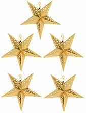 VOSAREA Papier Étoiles Lanterne Décoration