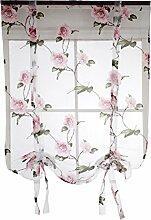 Vosarea Store bateau à œillets Motif fleurs Rose