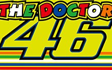 VR46 Racing Apparel Classic The Doctor, drapeau -