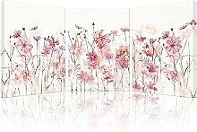 VUSMH Peintures murales de Fleurs Peintures sur