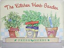 Vvision The Kitchen Herb Garden l'art Fer