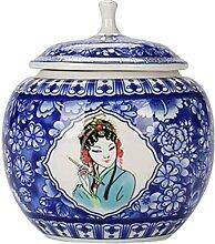 VWJFHIS Boîtes à thé en Vrac en céramique avec