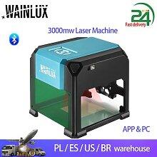 Wainlux – graveur Laser CNC K4 Pro, 3000MW,