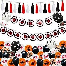 Wakauto 1 Set Halloween Ballons Party Decorations
