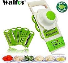 WALFOS – râpe à légumes Mandoline avec 5