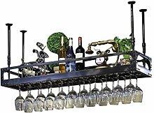 Wall Wine Racks Étagère de rangement en fer en