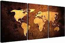 Wallfillers® - Impression de carte du monde
