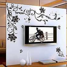 Wallpark Créatif Romantique Noir Vigne Papillon