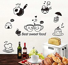 Wallpark Cuisine Aliments Emoji Amovible Stickers