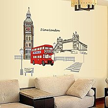 Wallpark Londres Pont de la Tour Rue Bus Amovible