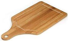 Walmeck Planche à découper en bambou plaque à