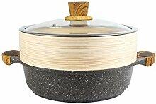 WALNUTA Maifan Stone Soup Pot Double Oreille Pot