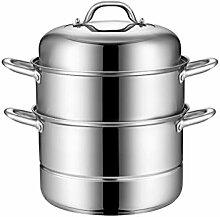 WALNUTA Vapeur en acier inoxydable Pot Includes