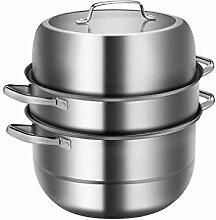 WALNUTA Vapeur en acier inoxydable Pot Marmite,