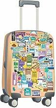 Walplus Decoratie Sticker Bagage Labels