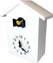 Walplus horloge murale coucou 25 x 20 x 10 cm PVC