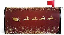 Wamika Rouge de Père Noël Renne Bienvenue