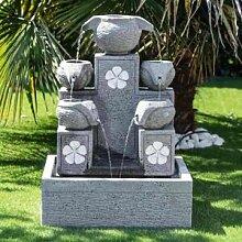 Wanda Collection Fontaine de jardin Cascade 5