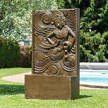 Wanda Collection - Grande fontaine de jardin mur