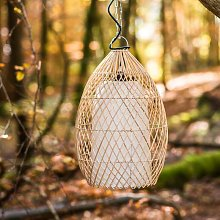 Wanda Collection - Lampe suspension en osier 37 cm