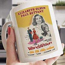Wandavision Movie Mug Wandavision Mug Scarlett
