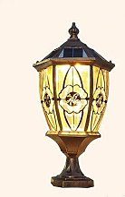 wangpu Lampe solaire d'extérieur IP65