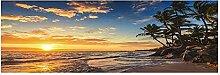 WANGWO Abstrait HD Impression Paysage Marin