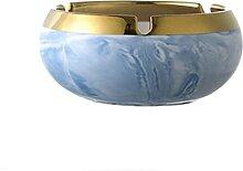 wangYUEQ Cendrier de Luxe Céramique Art Moderne