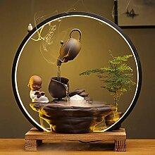 WANJIAJIA Fontaine Interieur Zen Decoration Maison