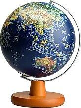 WanuigH Globe Terrestre 25cm Globe for enseigner