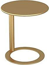 Wanzsc table basse nordique table d'art en fer