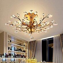 Waqihreu Lustre,plafonniers en Cristal Modernes