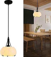 Waqihreu Lustre,Suspension en Verre Vintage Lampe