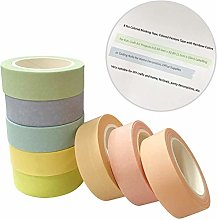 Washi Tape, 8 rouleaux Washi Masking Tape Ruban