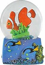 Water Globe - Poisson de Récif de Deluxebase.
