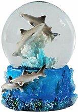Water Globe - Requin de Deluxebase. Boule à Neige