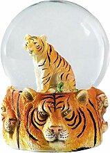 Water Globe - Tigre de Deluxebase. Boule à Neige