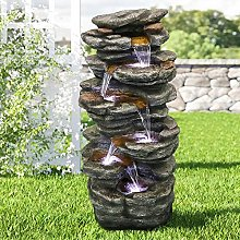 WATURE Fontaine de jardin Rockery - 101 cm Jeu