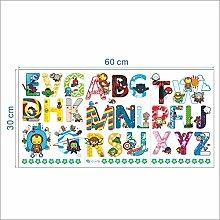 WAY2BB - Stickers Alphabet les Avengers