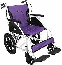 WBJLG Fauteuil Roulant en Aluminium, fauteuils