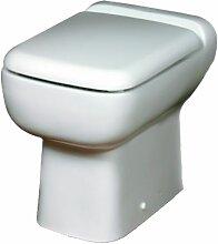 wc céramique rectangulaire avec broyeur