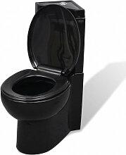 WC Cuvette céramique Noir