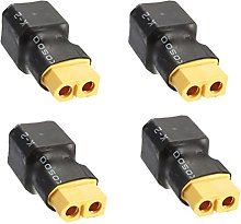 wchaoen 4pcs xt60 convertisseur de connecteur de